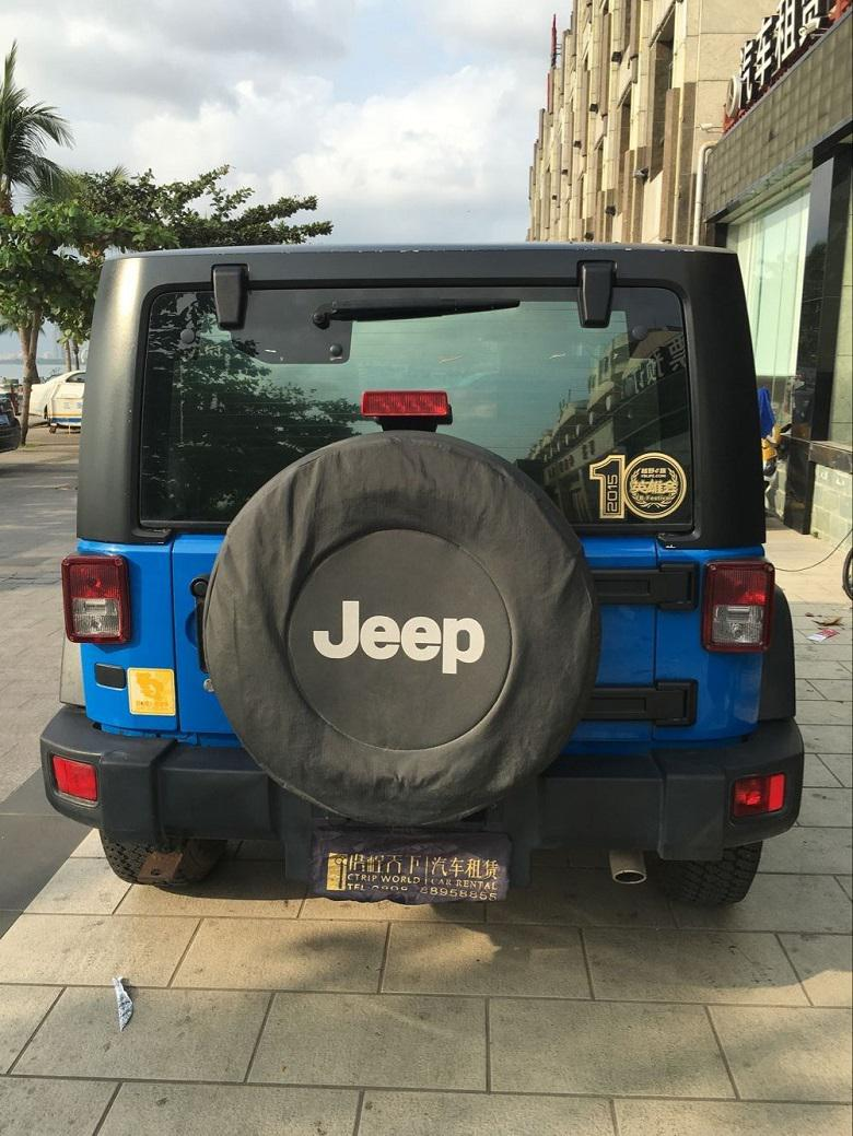 三亚租jeep-牧马人车型尾部图片展示